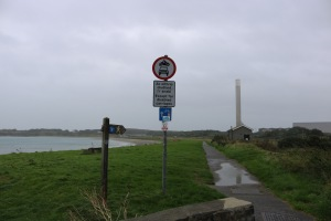 Near the start of the  Lon Las Cymru cycle path